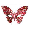 Butterfly Mask - Red
