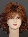 Tri Col Brown Centre Part Wig