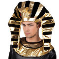 Black & Gold Egyptian Headdress