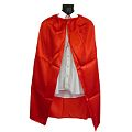 Child Superhero Red Satin Cape
