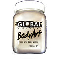 Metallic Silver Face & Body Paint 200ml
