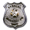 Special Police Metal Badge