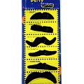 Black Moustaches - Set of Six