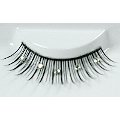 Black Eyelashes w/ 5 Diamontes