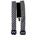 Clown Checkered Suspenders
