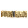 Gold Sequin Belt