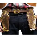 Cowboy Double Gun Holster - Brown