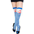Sailor Girl Thigh Highs