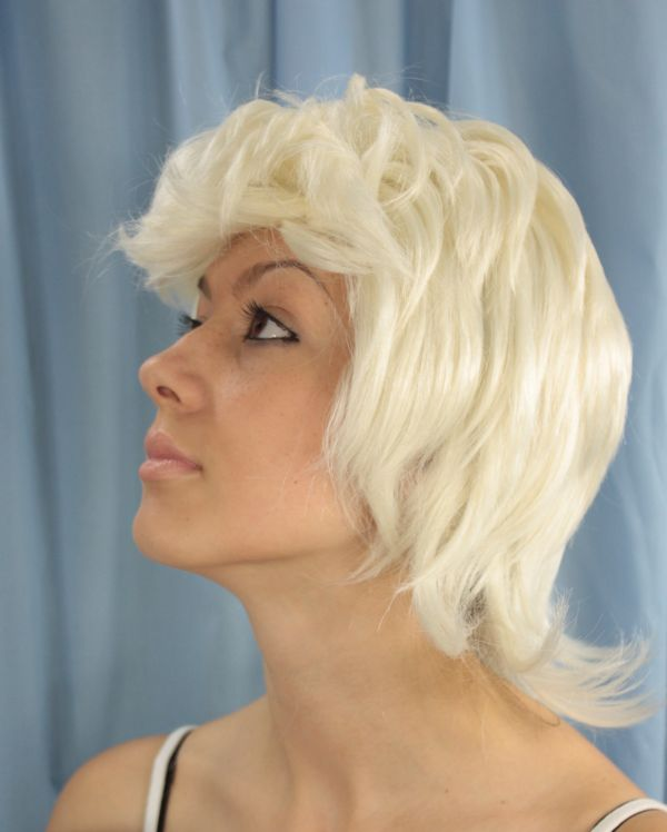 Dolly White Wig