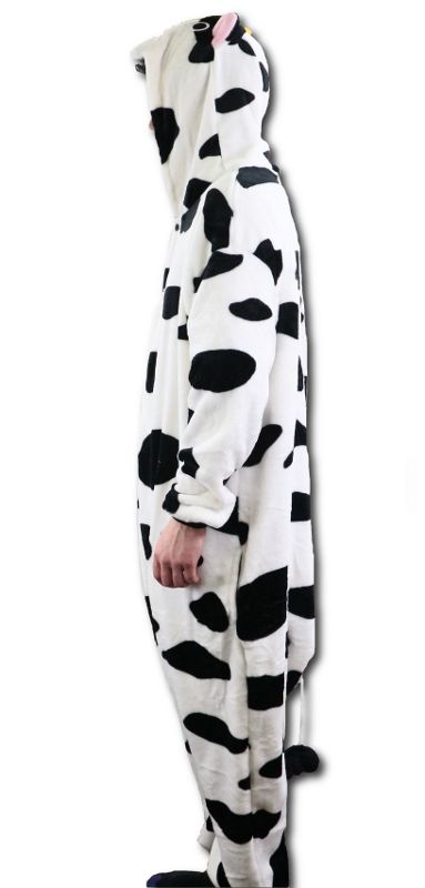 Cow Adult Bodysuit Animal Costume Large