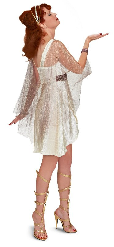 Greek Goddess Adult Costume. Roman Goddess Queen