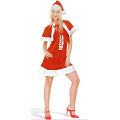 Sexy Santa Adult Costume (Medium)