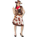 Cowgirl - Western Adult Costume (Medium)