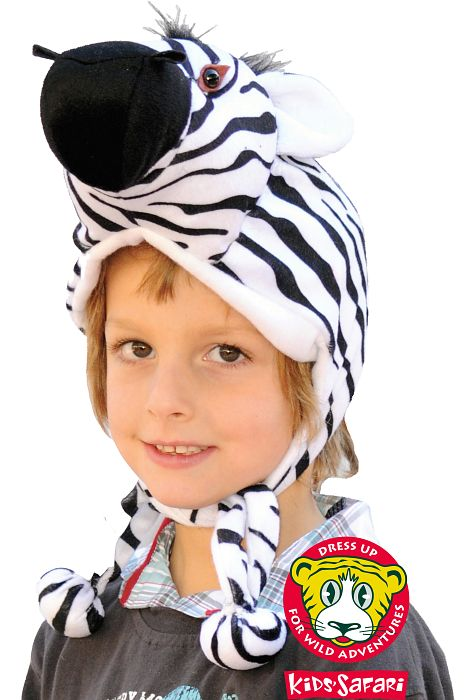 Zebra Hood & Tail - Click Image to Close