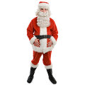 Deluxe Plush Santa Suit (Adult)