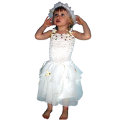 White Christmas Fairy Dress/Angel Child Medium (4-6yo)