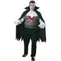 Vampire Full Cut Adult Costume (Plus Size)