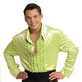 Green Velvet Disco Shirt