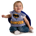 Batman New Born Bib
