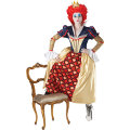 Red Queen Of Hearts Adult Costume Alice in Wonderland