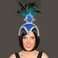 Cabaret Blue Headdress