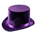 Lincoln Purple Velvet Hat