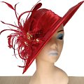 Gioconda Red Spring Racing Hat