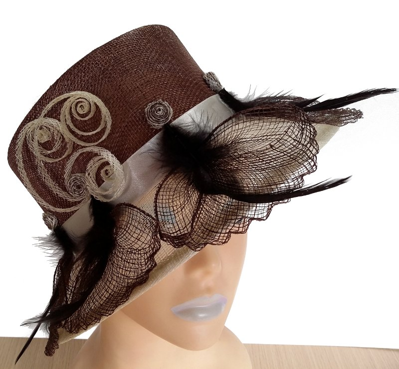 Serina Brown Designer Hat