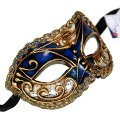 Colombina Vivian Music Blue Masquerade Mask