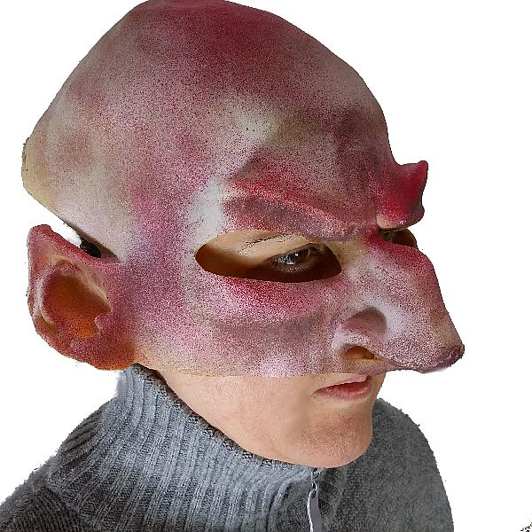 Evil Alien Darkside Latex Mask
