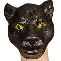 Panther Plastic Mask