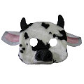 Cow Plush Mask