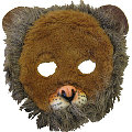 Lion Plush Mask