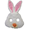Rabbit Plush Mask