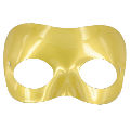 Gold Plastic Half Mask