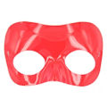 Red Plastic Half Mask