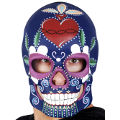Day Of The Dead Purple Mask