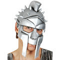 Warrior Silver Helmet Mask