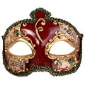 Salvatore Red Masquerade Mask