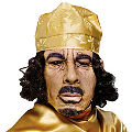 Muammar Gaddafi Latex Mask