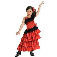Spanish Dancer Child Costume