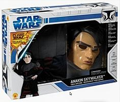 Anakin Skywalker Sm Box Set Child Large (8-10yo)