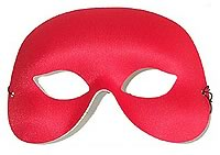 Cocktail Mask - Red
