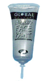Metallic Silver Face & Body Paint 15ml