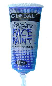Ultra Blue Face & Body Paint 15ml