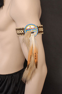 Indian Armbands - Brown (Pack of 2)