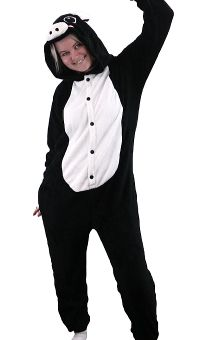Black Pig Animal Onesie