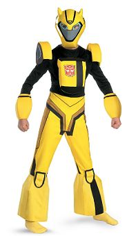 Bumblebee Transformers Deluxe Child Costume Small (3-4yo)