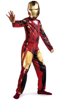 Iron Man 2 Child Costume Large (8-10yo)
