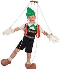 Pinocchio Child Costume